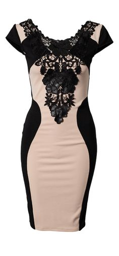 Silhouette bodycon dress