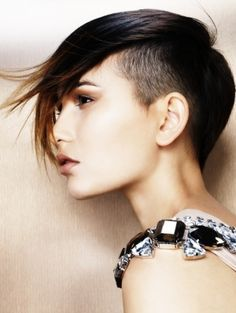 haircuts with shaved side - Google Search