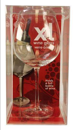 XL wine glass