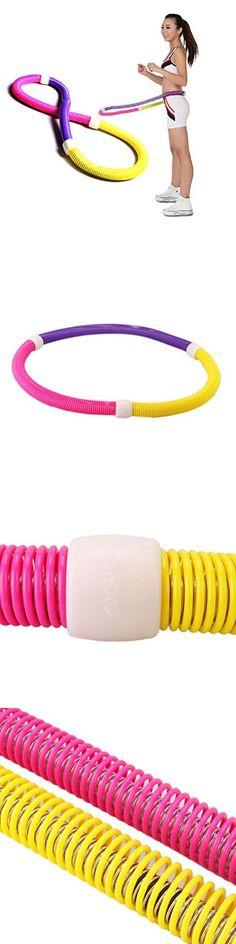 Soft Hula Hoop Spring Hula Hoop Magnetic Slimming Thin Waist Fitness Equipment