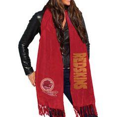 Washington Redskins Women's Team Scarf – Burgundy