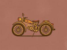 Vehicle Illustrations by Christopher Hebert | Inspiration Grid | Design Inspiration
