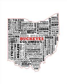 The OHIO State Buckeyes