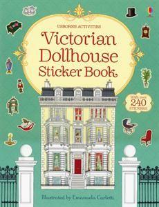 Usborne Books & More. Victorian Dollhouse Sticker Book - make it fun and educational