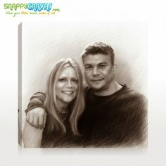 A nice couple on pencil sketch for your wall by snappy canvas. Photo Sketch, Photography Tips For Beginners, Photo Canvas, Pet Portraits, Sculptures, Pencil, Sketches, Animation, Couple