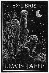 woodcut by Andy English....Robyn!... A must for the Meerkat Manor library...:0P