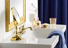 Spring Update: Indigo & Gold Bathroom, http://www.myhabit.com/redirect/ref=qd_sw_ev_pi_li?url=http%3A%2F%2Fwww.myhabit.com%3F%23page%3Db%26sale%3DA3TC22Z29X4GIL%26dept%3Dhome