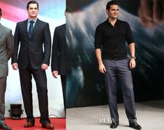 Henry Cavill In Giorgio Armani - 'Man of Steel' Shanghai Film Festival Premiere & Photocall - Superman is HOT!