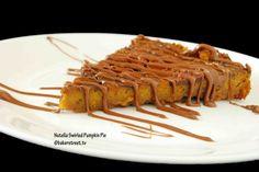 Nutella Swirled Pumpkin Pie from @Anuradha | Baker Street