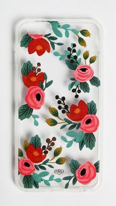 Clear Rosa IPhone 6 Plus Case By Rifle Paper Co.
