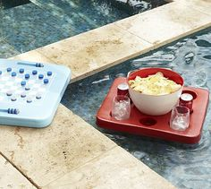 Pool Drink Holder Floating Floating Mini Tray Drink