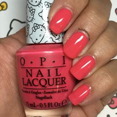 Spoken from the Heart from the Hello Kitty by OPI 2016 Collection | Nailpolishpursuit.com
