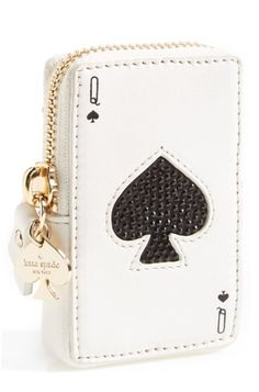 Lovely Kate Spade 'Place Your Bets' Card Coin Purse http://rstyle.me/n/tqigwbh9c7