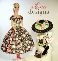 Vintage Rosies Fashion Royalty Silkstone Barbie Doll Dress Clothes OOAK handmade