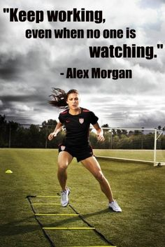 Motivational Monday: Alex Morgan