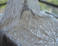 1 Yard. This stunning design piece has soft hand feel, ideal for Bridal dress, headpieces, costumes, Wedding DIY, Apparel, handcraft accessories etc. Color: Ivory. | eBay!