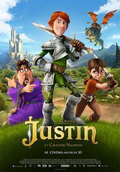 Justin e i cavalieri valorosi -  #bluray #3d by #DVDlab Distributed by @Kmedia2    Follow DVDlab on #Facebook - https://www.facebook.com/pages/DVDlab/19069528431    #film #cartoon #graphic #bd #dvd #cinema #KochMedia
