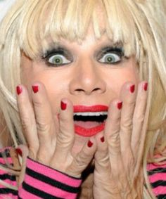 "Betsey Johnson 74, American fashion designer best known for her feminine and whimsical designs. Many of her designs are considered ""over the top"" and embellished. She also is known for doing a cartwheel at the end of her fashion shows."