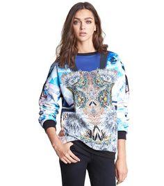 Crystal Corset Sweatshirt