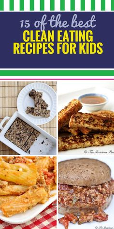 15 Clean Eating Recipes for Kids. I bet you never thought that your kids would be begging for quinoa. Or that your entire family would think that clean eating was a great idea. These healthy dinner foods will leave you and your kids begging for more. Clean Eating Recipes, Clean Eating Snacks, Healthy Eating, Healthy Fruits, Healthy Snacks, Healthy Kids, Paleo Kids, Healthy Drinks, Easy Healthy Dinners