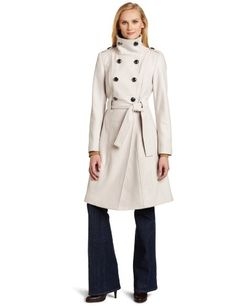 Special Offers Available Click Image Above: Calvin Klein Women's Military 3/4 Length Coat