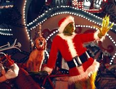 Still of Jim Carrey in How the Grinch Stole Christmas
