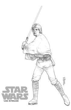 Luke Skywalker by Garrie Gastonny
