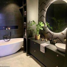 3d Tiles, Wall Tiles, Kristiansand, Sombre, Dream Apartment, Home Spa, Contemporary Bathrooms, Bathroom Interior Design, Decoration