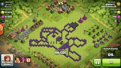 Mega man in clash of clans - Listed by @organicbear953.