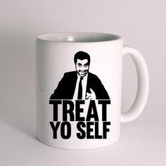 Treat Yo Self for Mug Design