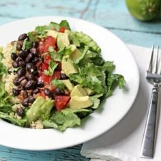 California Chipotle Chop with Agave-Lime Vinaigrette