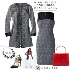 Carlisle: Do well and dress really well. by carlislecollection on Polyvore featuring moda, Christian Louboutin, Nancy Gonzalez, Vera Bradley, Palm Beach Jewelry, Levi's, WorkWear, CarlisleCollection and Spring2015
