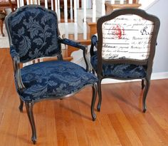 Richmond: French Provencial Style Arm Chairs - Refinished $440 - http://furnishlyst.com/listings/32839