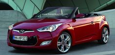 Hyundai-Veloster-Cabriolet My Dream Car, Dream Cars, Hyundai Veloster, Audi A1, Automobile Industry, Dream Garage, My Ride, Cars Motorcycles
