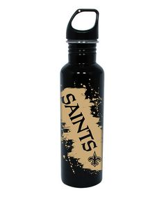Take a look at this New Orleans Saints Stainless Steel 26-Oz. Water Bottle by Stocking Stuffers: Sports Lovers on #zulily today!