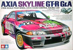 Tamiya Model Kits, Tamiya Models, Tokyo Drift Cars, Miniature Cars, Nissan Gtr Skyline, Japan Cars, Four Wheel Drive, Car Tuning, Rally Car