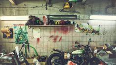 """Photo """"The garage"""""""