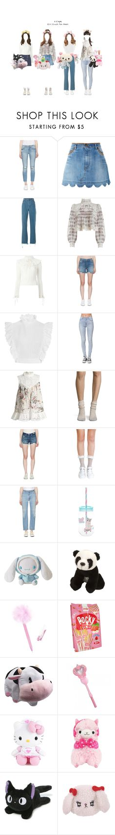 """""""GC: Fan signing @ Busan"""" by girlcrush-official ❤ liked on Polyvore featuring Frame, RED Valentino, Chloé, Zimmermann, Philosophy di Lorenzo Serafini, J Brand, Bullhead Denim Co., Free People, AMO and RE/DONE"""