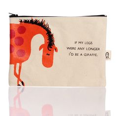 Giraffe Legs Pouch, $17, now featured on Fab.