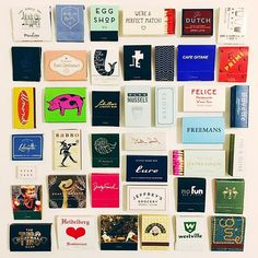 matchbooks of new york // carly a hill