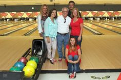 Team Jennette Properties at a Realtor Bowling Event. Kim Blakeney (Agent / Office Manager) Teresa Ribaudo (Agent) Richard Jennette (Broker / Owner) Laurie Francey (Director of Operations) and Sharon Sieradzki (Accounting)