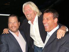 Tony Robbins Marc Benioff, Richard Branson - Why Successful People Leave Their Loser Friends Behind Andrew Carnegie, Richard Branson, Tony Robbins Quotes, Success Principles, Tim Ferriss, People Leave, Rich People, Gary Vaynerchuk, Oprah Winfrey