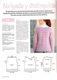 Delicadezas en crochet Gabriela: 38 Prendas tejidas paso a paso Crochet, Album, Pullover, Knitting, Sweaters, Model, Lana, Fashion, Blouses