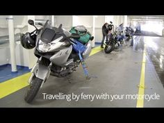 Loading information - A guide to taking your motorbike by ferry - Brittany Ferries