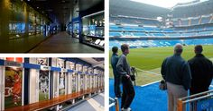 Tour del Bernabéu - Estadio del Real Madrid - Neoexperience Bernabeu, Basketball Court, Soccer, Tours, Sports, Hs Sports, Futbol, European Football, European Soccer