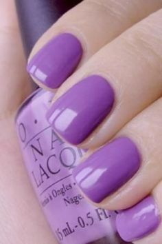 Purple OPI nail polish Best voted OPI Nail Polish Lacquer #nail #polish @opulentnails #OPI