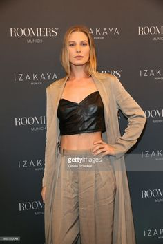Sarah Brandner attend the opening party of Roomers Munich and Izakaya (i loved the outfit)
