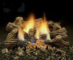 Fireplace scene