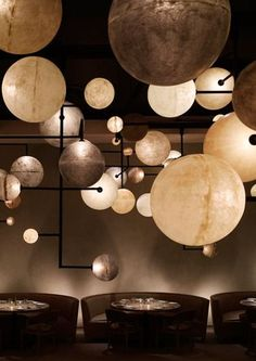 The Pump Room at Public Hotel, Chicago, by Ian Schrager.