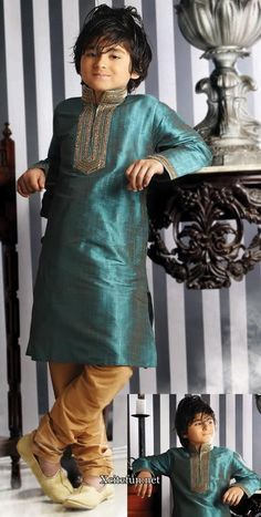Page Boy/Ring Bearer Young Boys Fashion, Little Boy Fashion, Indian Dress Up, Indian Wear, Traditional Dress For Boy, Lehenga Choli, Sari, Boys Kurta Design, Kids Party Wear